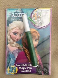 Disney Frozen Invisible Ink & Magic Pen Set