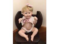 "Porcelain Doll - Ashton Drake ""Cute as a Button"""