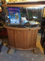 55 Gallon Aquarium w stand