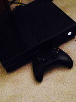XBOX ONE CONSOLE +1 controller+wires.works very nice