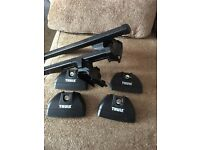Thule roof bars, fitting kit & foot pack