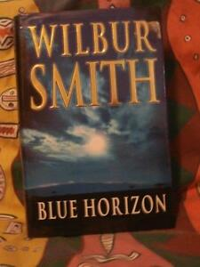 Blue Horizon by Wilbur Smith (hardcover)