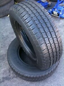 285/35R19 Set of 2 Michelin Used Free Inst.&Bal.75%Tread Left