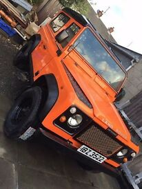 classic 1992 land rover 90 open to offers
