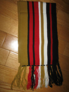 LONG SIX-FOOTER COLOURFUL DANTE FRINGED FASHION SCARF
