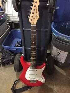 Peavy Red Electric Guitar - Perfect for Beginners!