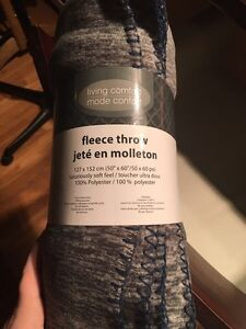 Fleece throw brand new
