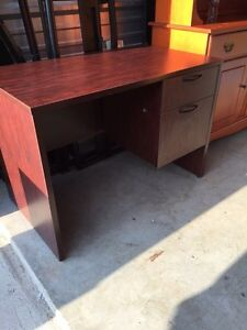 Solid wood Cherry colour desk with hutch  London Ontario image 3