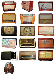 WANTED OLD RADIOS AND PARTS