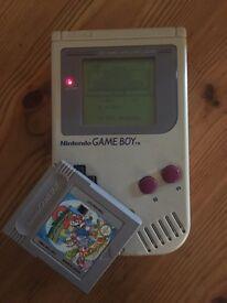 Original game boy & 2 super mario games