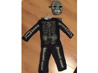 HALLOWEEN COSTUME - Kids age 3 skeleton outfit