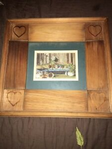 Country pictures with wooden frames Cambridge Kitchener Area image 1