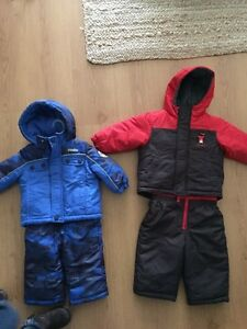 12 and 18 Month Snow Suits
