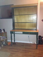 HUTCH FOR SALE ( TOP IS DETACHABLE) $60 obo