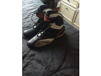 Street fighter alpine stars motorcycle boot 7.5