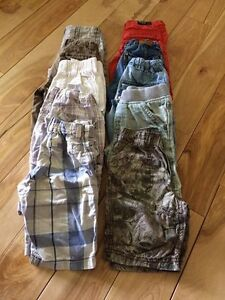 10 shorts - size 3/4 years old - really good condition
