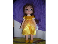 belle animation doll