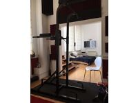 Pull-up & dip station with core training as well. Also handles for push-ups included.
