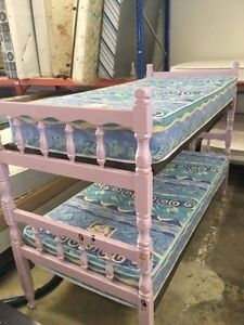 CUTE PINK/PURPLE BUNK BEDS NOW AT AUSSIE SAVING FURNITURE Bentley Canning Area Preview
