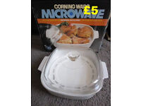 Corning Ware Microwave Skillet