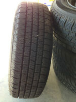 All Season MotoMaster Tires with RIM