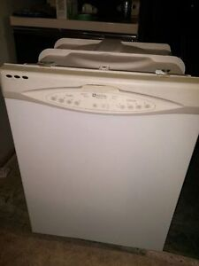 dishwasher, fridge w/freezer, stove