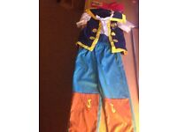 Jake and the never land pirates costume age 2-3
