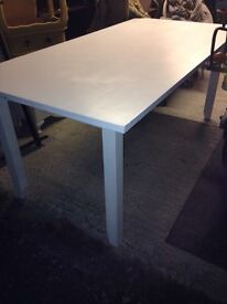 Large Solid Wood Dining Table - Can Deliver