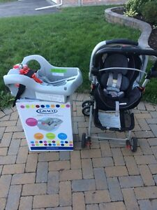 Graco Snugride 35 infant travel package
