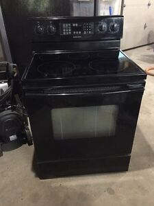 Black Glasstop stove