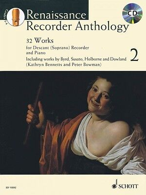 Instruction Books, Cds & Video 1 30 Works Soprano Recorder And Piano 049018003 Wind & Woodwinds Baroque Recorder Anthology Vol