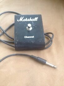 Marshall Amp single Channel switch pedal