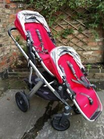 Uppababy Vista 2015 double pushchair