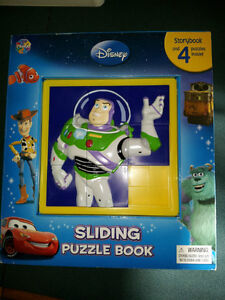 Disney Storybook with puzzles