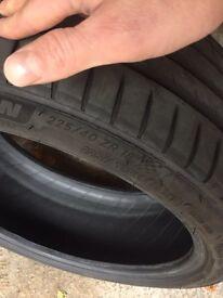 Michelin pilot sport 4 225/40/18