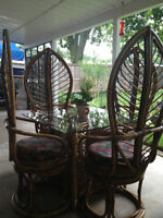 Beautiful Outdoor or Indoor Patio Table and Chairs