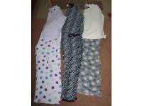 ladies pj's spotty 16-18 £4 onesie bnwt L £5 Grey 18-20 (worn once)£4.50 or £12 the lot