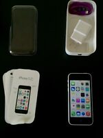 White iPhone 5c,16gb Brand New Condition.3 MONTH APPLE WARRANTY
