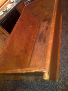 Antique Pine Dough Box Collectible Antique Old Growth