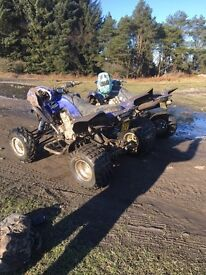 Yamaha Raptor 700r ROAD LEGAL (will part ex for ktm 125 exc)