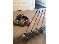 Ping G10 wood set driver 3 wood 5 wood rescue club stiff shafts