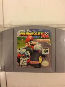 N64 extremely RARE Mario kart nfr