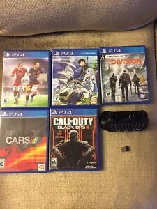 Selling a PS4! A lot of stuff with the PS4