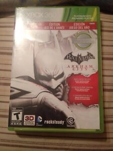 Jeux 360 Batman arkham city