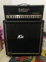 5150 II WITH Cab Marshall 1960A 4x12 300W