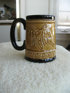...A BEER STEIN for the WILD WEST & RODEO ENTHUSIAST...['60's]