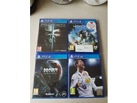 PS4 GAMES BUNDLE fifa 18 sold
