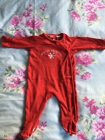 My first Christmas 0-3 month baby grow