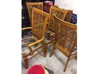 Old dining chairs