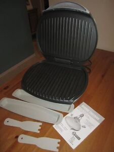 Large George Foreman Grill - Almost new Kitchener / Waterloo Kitchener Area image 1